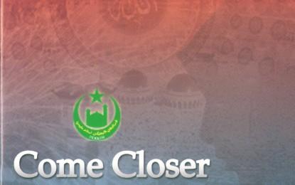 Come Closer To Allah
