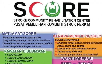 Pusat Pemulihan Komuniti Strok PERKIM (SCORE)