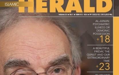 Islamic Herald – Volume 33 (No 1)
