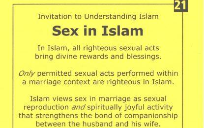 21 – Sex In Islam