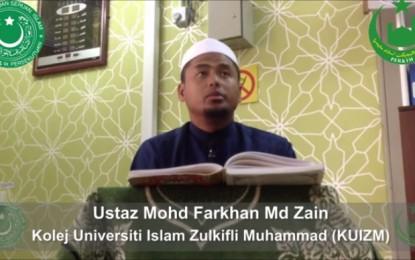 Iman Dan Kehidupan (Siri 27) – Ustaz Mohd Farkhan Md Zain – 14 November 2013