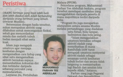 Ukhwah Saudara Muslim & Sukarelawan PERKIM
