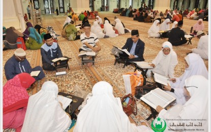 Lebih 700 Saudara Muslim Sertai Tadarus