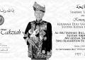 Sembah Takziah atas kemangkatan KDYMM Sultan Kedah Darul Aman