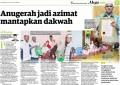 Anugerah Jadi Azimat Mantapkan Dakwah