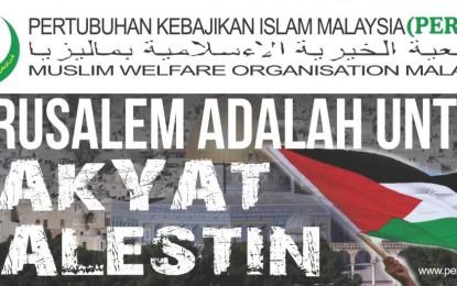 JARUSALEM ADALAH UNTUK RAKYAT PALESTIN!!!
