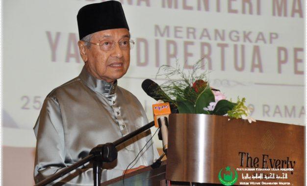 Tun Mahathir Gesa Umat Islam Bersatu Padu