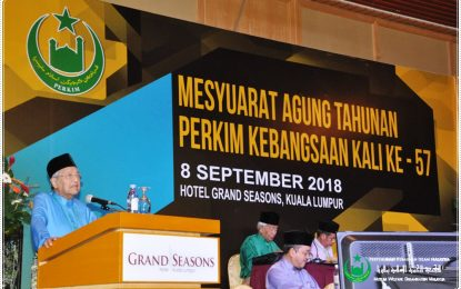 Persidangan Mesyuarat Agung Tahunan PERKIM Kebangsaan Kali Ke-57