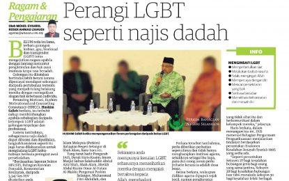 Perangi LGBT Seperti Najis Dadah