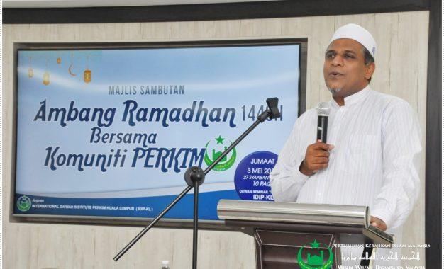Majlis Sambutan Ambang Ramadan 1440H Bersama Komuniti PERKIM