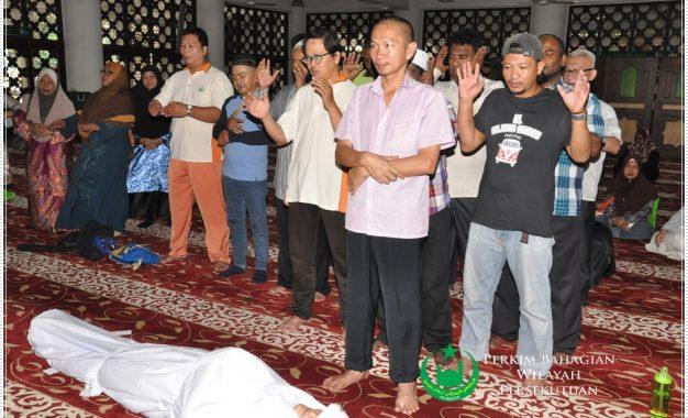 PERKIM Wilayah Latih Mualaf Urus Jenazah