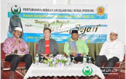 PERKIM Anjur Forum Sempena Maal Hijrah 1441 H