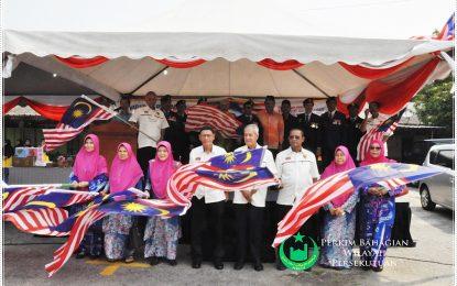PERKIM Wilayah Satu Padukan Bangsa Sempena Merdeka