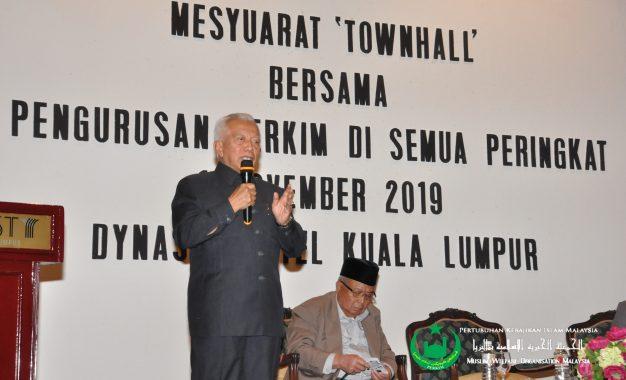 Mesyuarat 'Townhall' Bersama Pengurusan PERKIM di Semua Peringkat