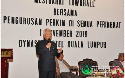 Sesi Townhall Bahagian, Cawangan Bersama Pengurusan PERKIM