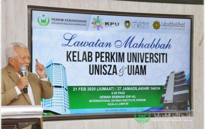 Lawatan Mahabbah KPU UniSZA & UIAM Gombak