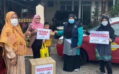 PERKIM HQ, PERKIM UIAM Santuni 24 Keluarga Mualaf Bukit Beruntung, Bukit Sentosa