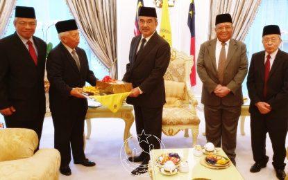 Kunjungan Hormat Pimpinan PERKIM Ke Pejabat TYT Negeri Melaka