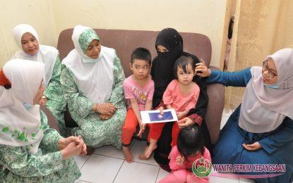 Wanita PERKIM Ziarah Keluarga Arwah Josen Yap Abdullah