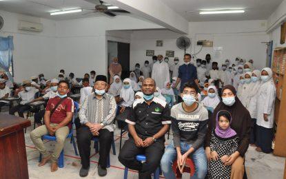 Lawatan Kerja Tan Sri Bendahari Kehormat PERKIM Ke Pusat Pendidikan Muhajirin Rohingya PERKIM