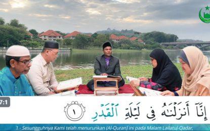 Siri 5 : Surah Al-Qadr – Tadarus Interaktif Bersama Saudara Muslim | Ustaz Muhammad Jais Mariappan